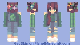 GeminiTay REMAKE // + speedpaint video! Minecraft Skin