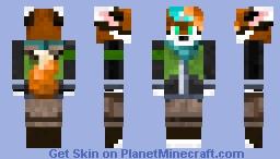 My Fursona, Pixel Minecraft Skin
