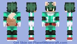Deku as a Furry (CyberSquirell) Minecraft Skin