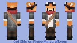 ScreedToeTaker's Steampunk Fox Skin Minecraft Skin