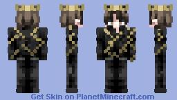 David Dobrik in a Crown Minecraft Skin