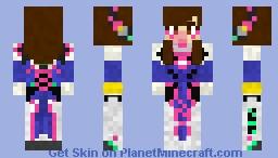 D.VA Minecraft Skin