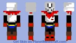 Papyrus Minecraft Skin