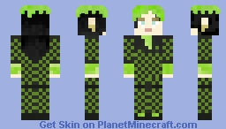 Billie Eilish Grammy Minecraft Skin