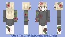 eerie rose // st Minecraft Skin