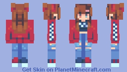 hey noww Minecraft Skin