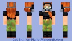 Quarantine Queen Minecraft Skin