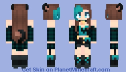 | Huh? Personal Space? What's That? | ~* Marma *~ Oc Minecraft Skin