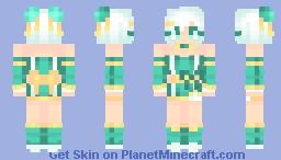 | Turquoise Dance | ~* Marma *~ Oc Minecraft Skin