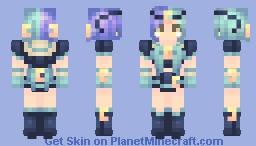 | Galaxy Spacebuns | ~* Marma *~ Oc Minecraft Skin