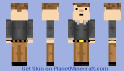 more detailed me Minecraft Skin
