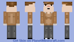 me irl 3 Minecraft Skin
