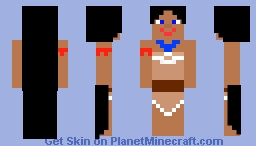 Pocahontas Minecraft Skin