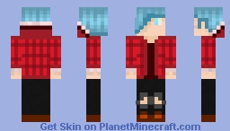 The Boy in the Woods Minecraft Skin