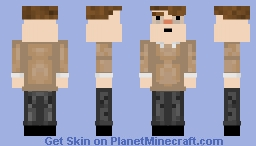 sleep deprived Minecraft Skin