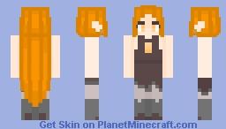 Eda the Owl Lady | The Owl House Minecraft Skin