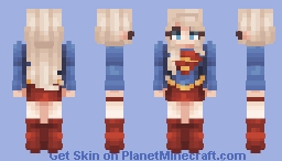 Supergirl Minecraft Skin