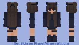 Ocean Blue (matching) Minecraft Skin