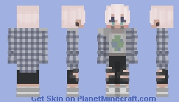 atlas | oc Minecraft Skin
