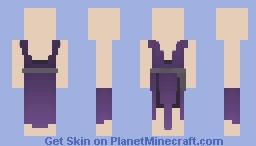 [LotC] Purple Dress {Free to use} Minecraft Skin