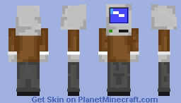 Wndows 95 Minecraft Skin