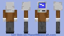 Windows 95 (fixed) Minecraft Skin
