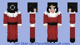 Red Fur Minecraft Skin