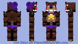 .·:*¨Rockstar-Freddy-¨*:·. Minecraft Skin