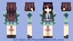 teal paradise. Minecraft Skin