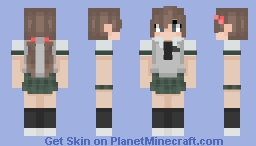 ~- Sutoka High School FEMALE Student [Yukari Hamato] -~ Minecraft Skin
