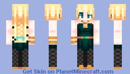 ♥Golden Rules♥ Minecraft Skin