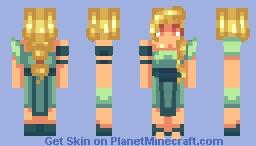 Ocean Goddess Minecraft Skin