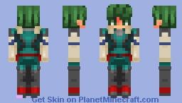 ' * - _ Izuku Midoriya _ -* ' Minecraft Skin