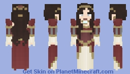 ~Lady of The Courts~ Minecraft Skin