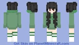 Ariah - Green Minecraft Skin
