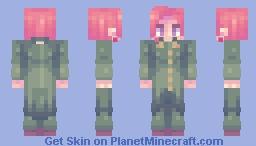 cherry man + alt Minecraft Skin