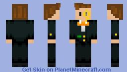 047 In A Suit 2.0!!! Minecraft Skin
