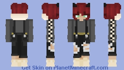 【Red Racer】 Minecraft Skin