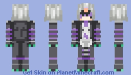 daphne ~ re:zero Minecraft Skin