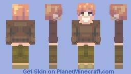 raining Minecraft Skin