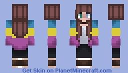 Pan Pride Minecraft Skin