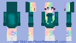 20 sub special! Pastel Rainbow Minecraft Skin