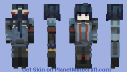 Imuka Valkyria Chronicles Minecraft Skin