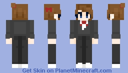 formal self-prom skin Minecraft Skin