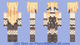 misa misa ! Minecraft Skin