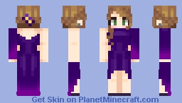 PMC Party Evie Minecraft Skin