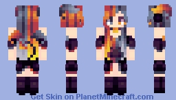 | Quinn's Dress | ~* Marma *~ Persona Outfit Minecraft Skin