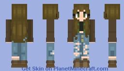 carry on my wayward son (dean inspired) Minecraft Skin