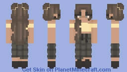 lying and loving Minecraft Skin