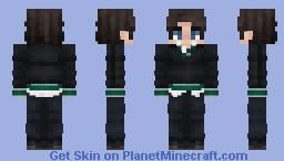 Slytherin Boy Minecraft Skin